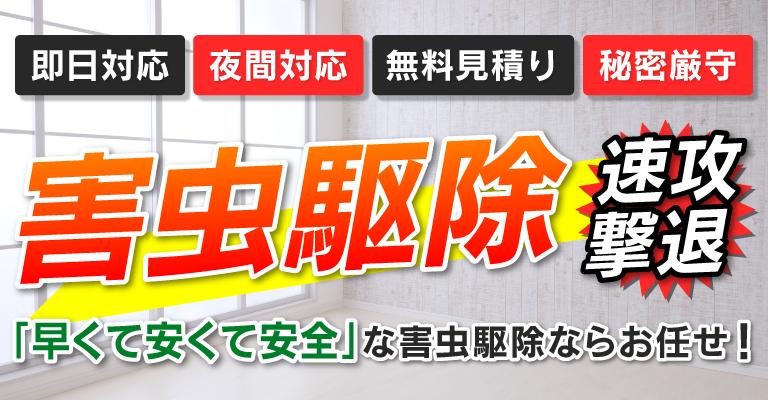 大阪の害虫駆除はHOMEパートナー